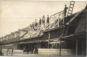 Bernadus Bumastraat in aanbouw