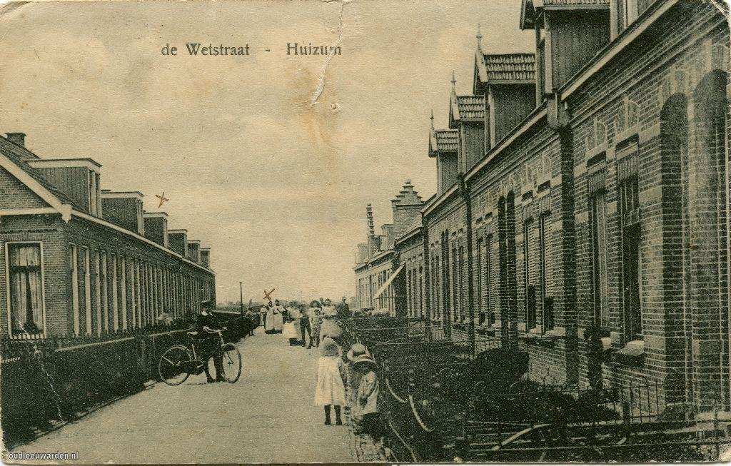 De Wetstraat in Huizum