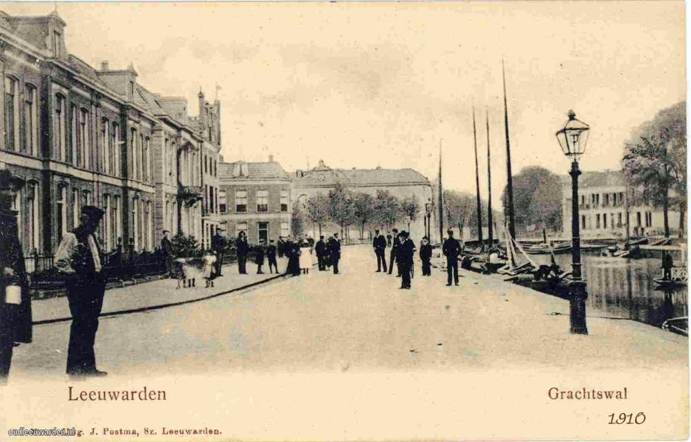 M13.Zuidergrachtswal  1910 (6)