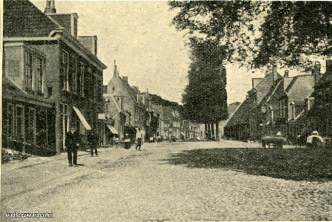 De Nieuwe buren in 1907.