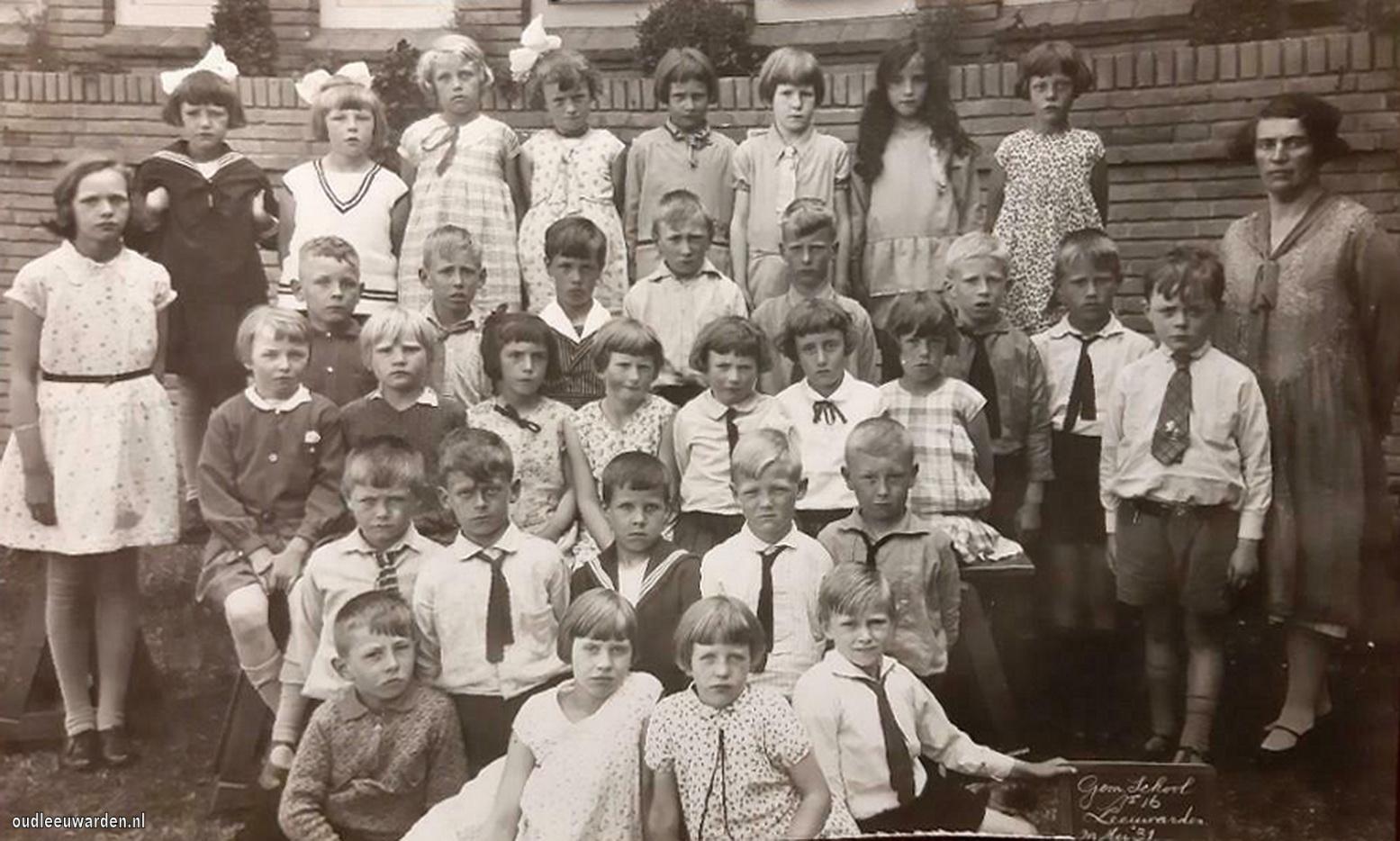 Gemeente school no16 Leeuwarden